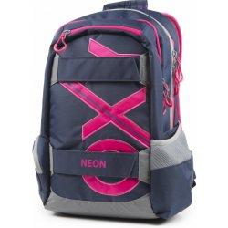 ec79531734 Karton P+P batoh OXY SPORT modrá line ružová od 47