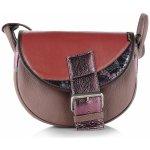 Freshman Slón TorbalskI dámska kožená kabelka na rameno čierna 6396 432576a8758