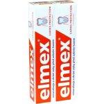 Elmex Caries Protection zubná pasta chrániaci pred zubným kazom 2 x 75 ml