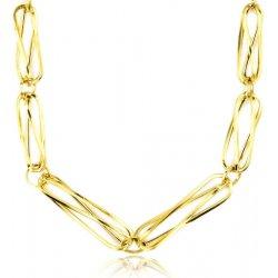 0f1fdde6d Zlatý dámsky náhrdelník