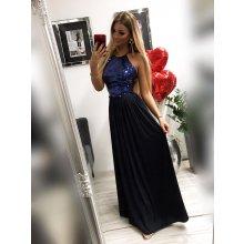 c6b3097c9920 Plesové šaty Modré plesové šaty - Heureka.sk
