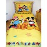 Jerry Fabrics obliečky MICKEY Mouse a priatelia Bavlna 140x200 70x90