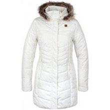 Loap Dámsky kabát Tafeta Snow White CLW1685 A10X