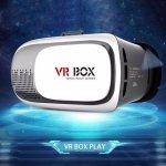 VR BOX II VIRTUÁLNE OKULIARE 3D - BIELE