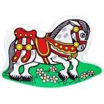 Teddies hojdačka kôň