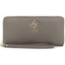 Guess peňaženka Digital Zip-Around Wallet taupe f0a77bf9e88
