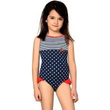 524d8497f Dievčenské jednodielne plavky Sárinka modré