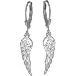 8dda25209 Argento strieborné náušnice anjelské krídlo 6557500 od 11,76 ...