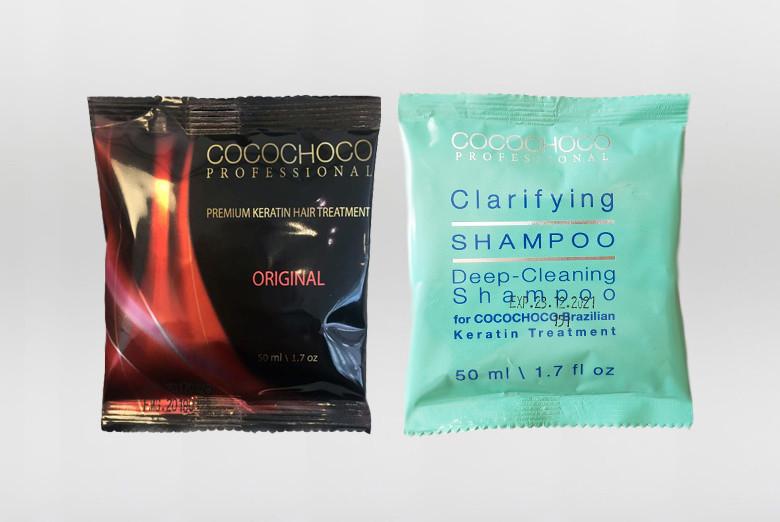 d15bc68769 Cocochoco Original Brazilský keratin 100 ml + 50 ml Čistící šampon  darčeková sada