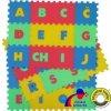 Pěnové puzzle Písmena (abeceda) 15x15cm - MALÝ GÉNIUS