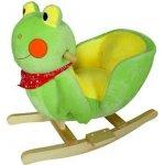 BabyGO Hojdacie kreslo žabka