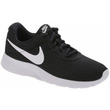 Nike Tanjun Slip On Ladies Trainers Black White 0530dc93e03