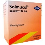 Solmucol pastilky 100 mg pas.ord.24x100mg