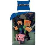 Halantex Obliečky Minecraft Bavlna 140x200 70x90