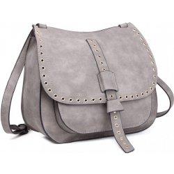 kabelka crossbody saddle vybíjaná sivá od 26 ba6a070f39e