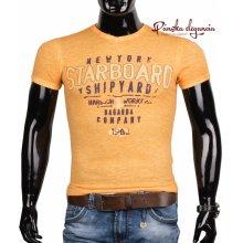 10969-3 Tričko pre pánov v športovom vzhľade Bagarda BG4072
