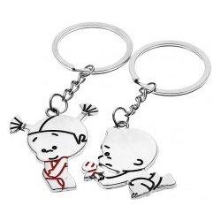 55eb08145 Prívesok na kľúče pre pár so zamilovanou dvojicou Y23.8 alternatívy ...