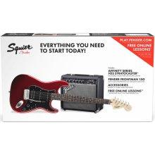Fender Squier Affinity Series Strat HSS Pack