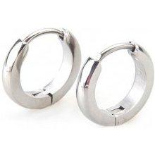 217c675e1 Šperky eshop náušnice z chirurgickej ocele striebornej farby zrkadlový lesk  SP49.02