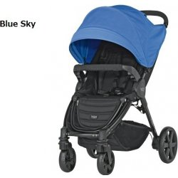 Britax B-Agile 4 Plus + farebná strieška Chilli Pepper 2015