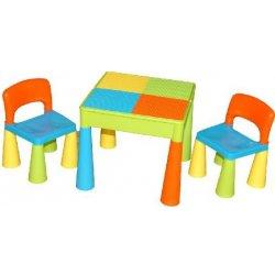502fdd06c890 Tega baby set dětský stůl a dvě židle Mamut multicolor alternatívy ...