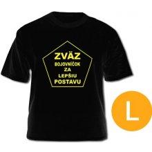 ec36d93b8e29 Dámské vtipné tričko Zvaz bojovníčok za lepšiu postavu