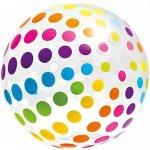Intex 59065 Nafukovacia lopta Jumbo 107cm farebné bodky