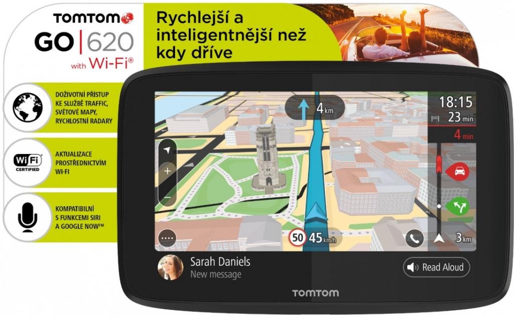 navigácia do auta TomTom GO 620 World Lifetime