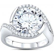 Silvego strieborný prsteň EXTRAVAGANZA so Swarovski ® Crystals JJJMR0362 0ec83e998ae