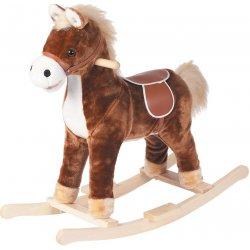 Kids World Hojdací koník z plyšu 62 cm