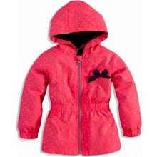 Dirkje dievčenská jarná bunda ružová neon