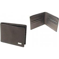 7016566261 Kožená pánska peňaženka na karty a bankovky Tony Perotti 537E-čierna ...
