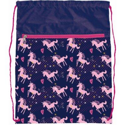 Stil vrecko na cvičky Pink Unicorn