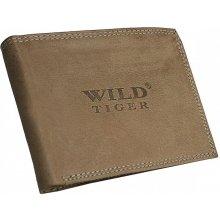 Wild Tiger Pánska kožená peňaženka AM 28 032A svetlohnedá 6773794f259