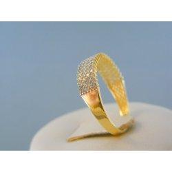 32e4f5521 MARM Design Zlatý prsteň číre zirkóny žlté zlato VP58195Z 14 karátov od  126,75 € - Heureka.sk