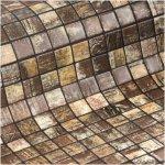 Ezarri ZEN Rustic Glass mosaic 25x25 mm plato 31,2x49,5 RUSTIC