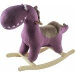 Petite&Mars hojdačka s melódiou dinosaurus Albert purple
