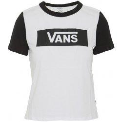 a9376e5a2f3 VANS Dámske tričko Flying V Raglan White Black od 27