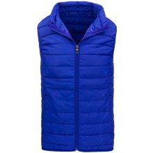 Pánská modrá vesta Tx1669 niebieski
