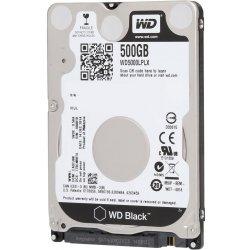 """WESTERN DIGITAL 500GB, 2,5"""", SATAIII, 7200rpm, WD5000LPLX"""