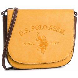 7f91a5ed3907 U.S. POLO ASSN. Cowtown Flap Crossb. Bag BEUCW0563WVP 302 Mustard od ...