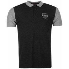 Source Lab Chelsea Polo Shirt Mens Charc M/Grey