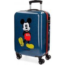 e103e30072e6a JOUMMABAGS Cestovný kufor ABS Mickey blue ABS plast, 55 cm