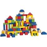 Woody 90909 barevné kocky 100 dielikov
