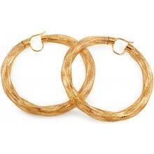 iZlato Design zlaté náušnice kruhy Flexi IZ9986 f3d02f54401