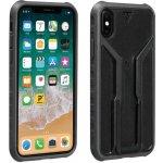 Púzdro Topeak RIDE CASE iPhone X čierno-sivé bez držiaku