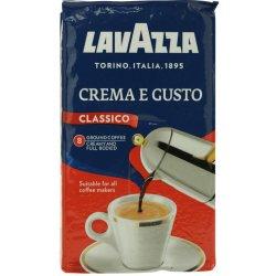kava Lavazza Crema & Gusto mletá káva 250 g