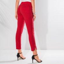 Blancheporte 7/8 ultra strečové nohavice červená