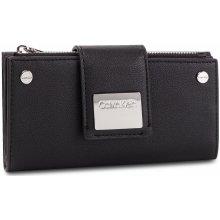 b57525cdf Calvin Klein Veľká Peňaženka Dámska Ck Lock Lrg Trifold K60K605099 001