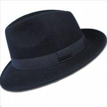 67606a0f7 Assante Čierny pánsky klobúk vodeodolný 85006